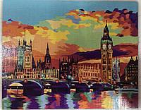 Картина за номерами на полотні 40*50 Лондон укр, DankoToys (10)