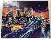 Картина за номерами на полотні 40*50 Сан Франциско укр, DankoToys (10)