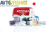 Аптечка автомобільна CarLife АМА-2 сумочка (велика)