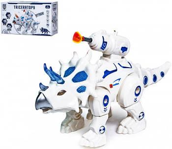 """Интерактивная игрушка """"Дракон Triceraptor 0837 - Интерактивные детские игрушки, Звуковые эффекты, Световые"""