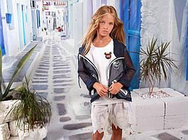 Детская одежда Mone, бомбер для девочки р-р 140