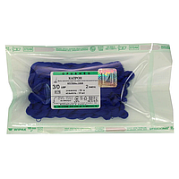 Капрон витой синий, USP(EP):3/0 (М2), в косичках по 50 м х 10 шт, шовный материал, OPUSMED