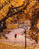 Картина за номерами Осінній парк 40*50 на полотні BrushMe