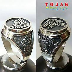 Перстень серебряный Холодный Яр/Пехота