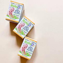 Жидкий витамин Д3 для детей на маслянной основе (400 МЕ), 10 мл (300 порций) California Gold Nutrition