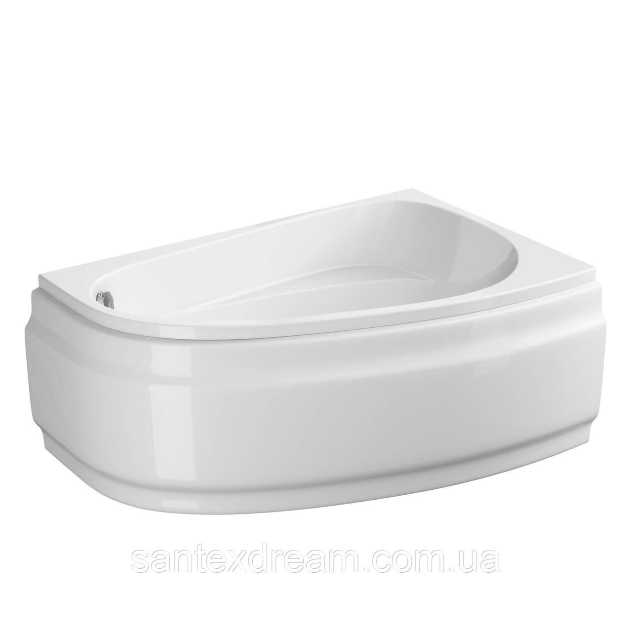 Ванна Cersanit Joanna New 140 X 90 асимметричная правая S301-166