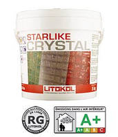 Litokol Starlike Хамелеон (Crystal) - эпоксидный светопропускающий состав для затирки стекломозаики 1 кг
