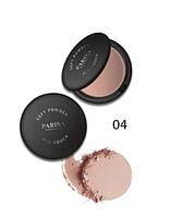 """Пудра компактна """"Parisa Cosmetics"""" PP-04, №04 Бежево-рожевий"""