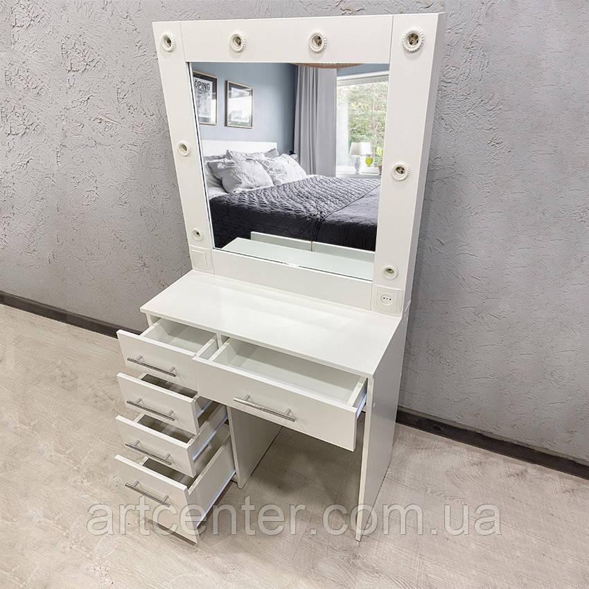 Визажный столик, стол для макияжа с подсветкой