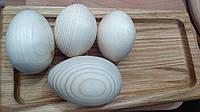 Дерев'яне яйце куряче, заготівля для декупажу, під декорування, для розпису