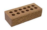 Кирпич Литос колотый с фаской пустотелый шоколад