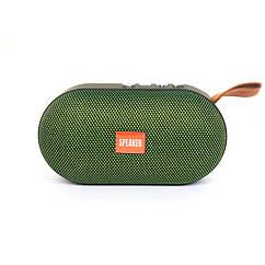 Портативна Колонка Т-7-4 Зелений, 13,4*7*5,6 см