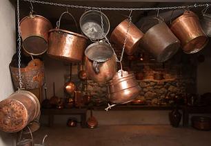 Антикваріат. Кухонне начиння, вироби з міді, чавуну і латуні. Декор.