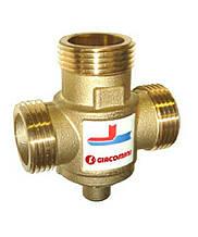 Антиконденсатний термостатичний змішувальний клапан Giacomini 1 дюйм 55 градусів