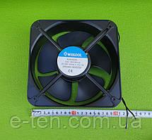 Вентилятор осьовий WIIKOOL модель WK20060A2HBL - розміри 200мм*200мм*60мм / 220-240V / 0,35-0,3 A (КВАДРАТНИЙ)