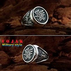 Перстень серебряный 95 бригада