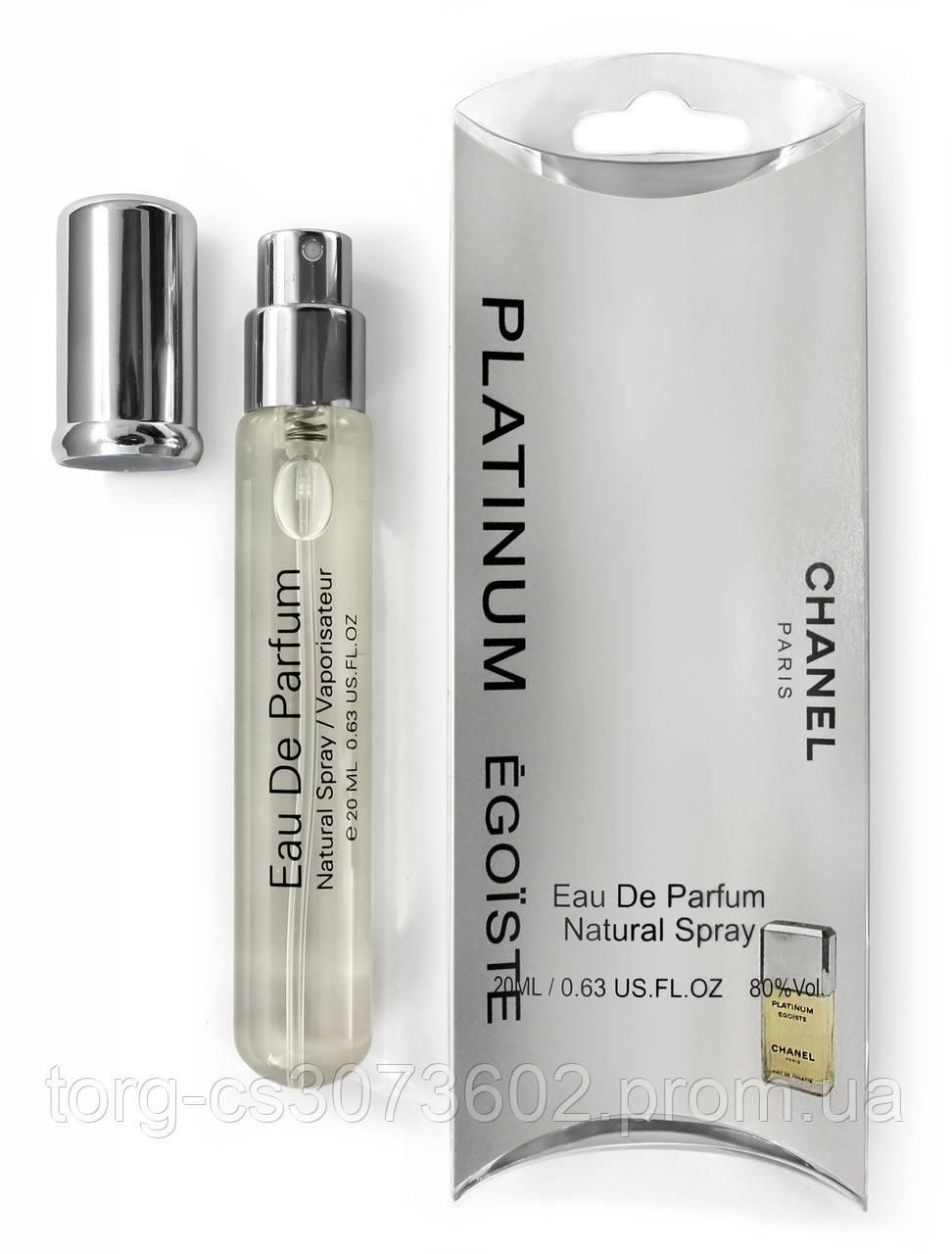 Міні-парфум чоловічий Chanel Egoiste Platinum, 20 мл