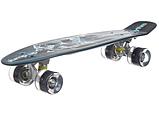Скейтборд пластиковий Penny зі світними колесами, фото 2