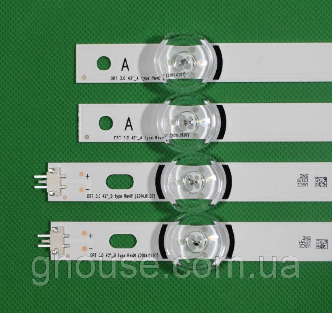 LG 42LF580V подсветка