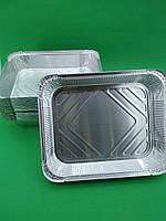 Контейнер Алюминиевый Одноразовый из Пищевой Фольги прямоугольный SP98L 3100 мл 50 шт(1 пач)Посуда Упаковка