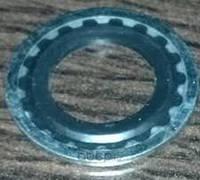 Уплотнительное кольцо (резинка с металлом) трубки компрессора кондиционера(27мм наружный диаметр) 1850709 KOS-