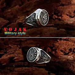 Перстень серебряный 79 бригада