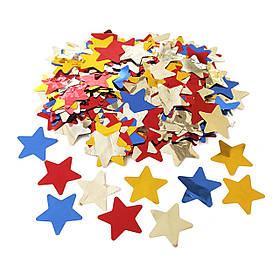 Конфетті Siverska зірки фольга мультиколор 1000 г КОД: SFMF1000