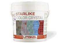 Litokol Starlike Color Crystal - эпоксидный цветной светопропускающий состав для затирки стекломозаики 2.5 кг