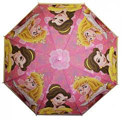 Зонтик детский MK 3630-6D DP, длина67см,трость61см,диам83см,спиц48см,клеенка,свисток