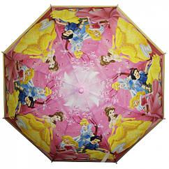 Зонтик детский MK 3630-6A DP, длина67см,трость61см,диам83см,спиц48см,клеенка,свисток