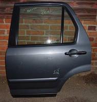 Стекло двери заднее левоеHondaCR-V 2002-2006