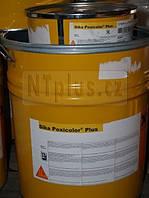 Эпоксидное защитное покрытие для бетона и стали, которые экспл. в агрессивной  среде Sika-Poxicolor  Plus,28кг