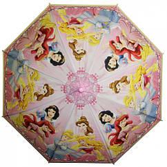 Зонтик детский MK 3630-6B DP, длина67см,трость61см,диам83см,спиц48см,клеенка,свисток