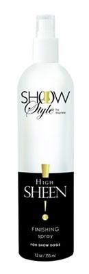 ESPREE High Sheen Finishing Spray Профессиональный Cпрей с  интенсивным блеском для  собак Шоу-класса. 355мл
