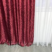 Шторы и тюль для зала спальни детской комнаты, шторы для кухни гостинной спальни квартиры из жаккарда, шторы, фото 7