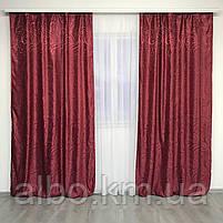 Шторы и тюль для зала спальни детской комнаты, шторы для кухни гостинной спальни квартиры из жаккарда, шторы, фото 6