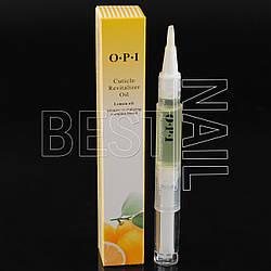 Масло для кутикулы в карандаше O.P.I. (лимон)
