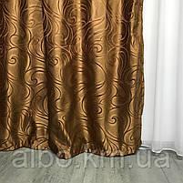 Готовые жаккардовые шторы для зала спальни детской, шторы для кухни комнаты квартиры, портьеры для дома, фото 9