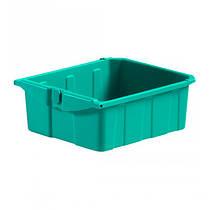 Ящик пластмассовый без замка 22л