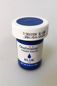 Пищевой краситель жирорастворимый елевый Chefmaster 20г синий