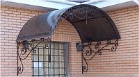 Козирок над дверима, К34, фото 1