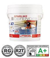 Litokol Starlike Defender -антибактериальный эпоксидный состав для укладки и затирки С.470 экстра белый 2.5кг