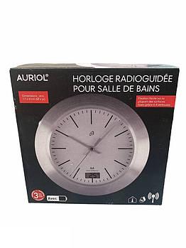 Часы настенные с термометром и гигрометром AURIOL