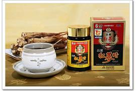 Экстракт Золотого Красного Корейского 6 летнего Женьшеня, 240 грамм