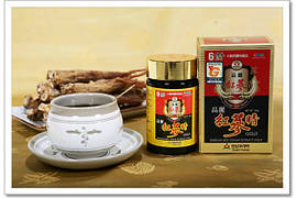 Экстракт Женьшеня Золотого Красного Корейского 6 летнего, 240 грамм