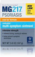 Лечебная Мазь из Дегтя для Лечения Псориаза, MG217 Medicated Tar Ointment, 108 грамм