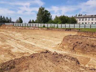 Земляные работы и бетонирование