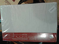 Постельное белье ранфорс отбеленный 100% хлопок ТМ Вилюта Украина однотонный белый