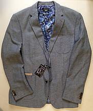 Пиджак мужской, брендовый, классический крой - Light Blue