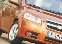 Реснички на фары Chevrolet Aveo 3 (2006-)